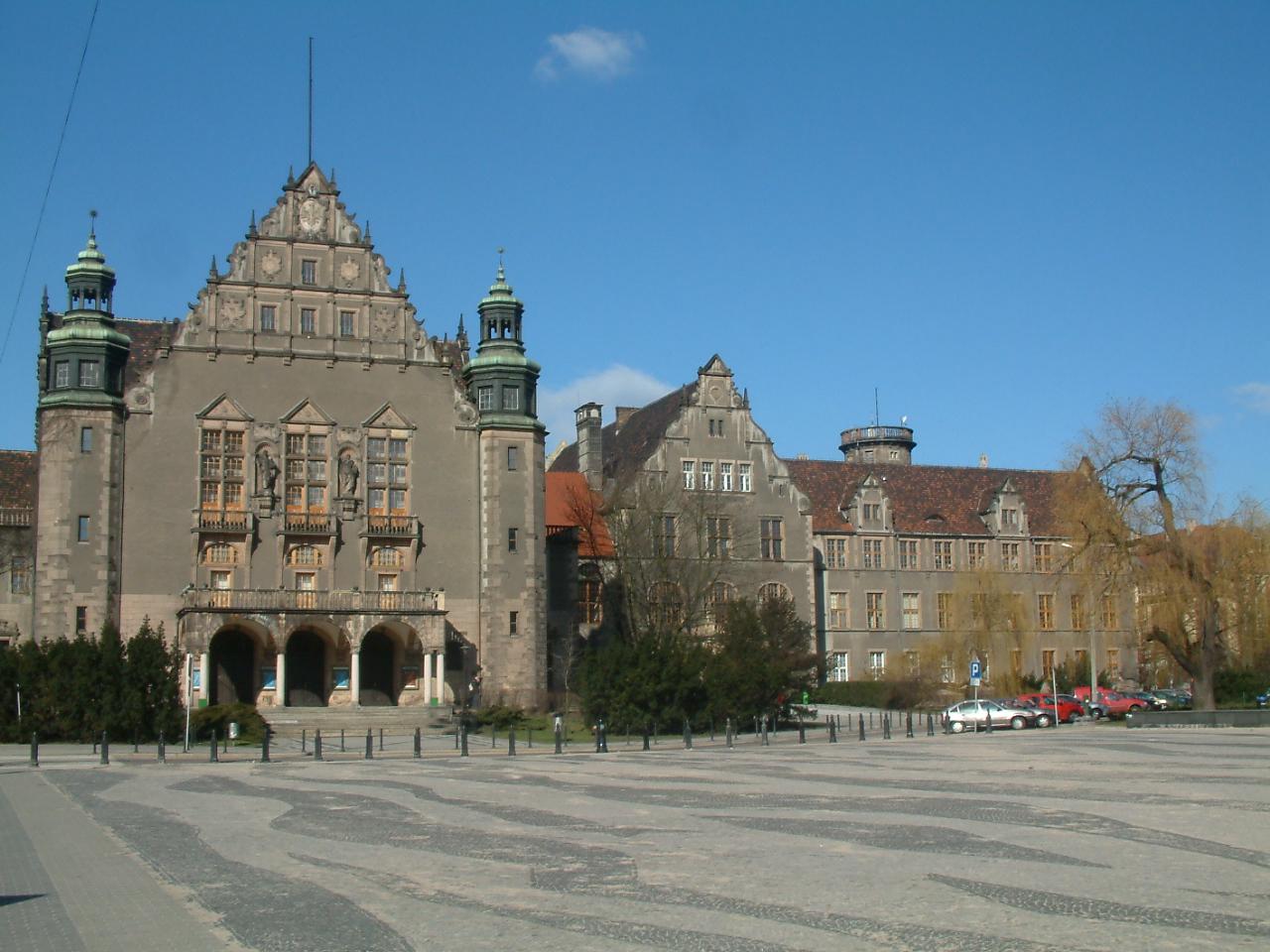 Aula UAM i Collegium Minus Poznań