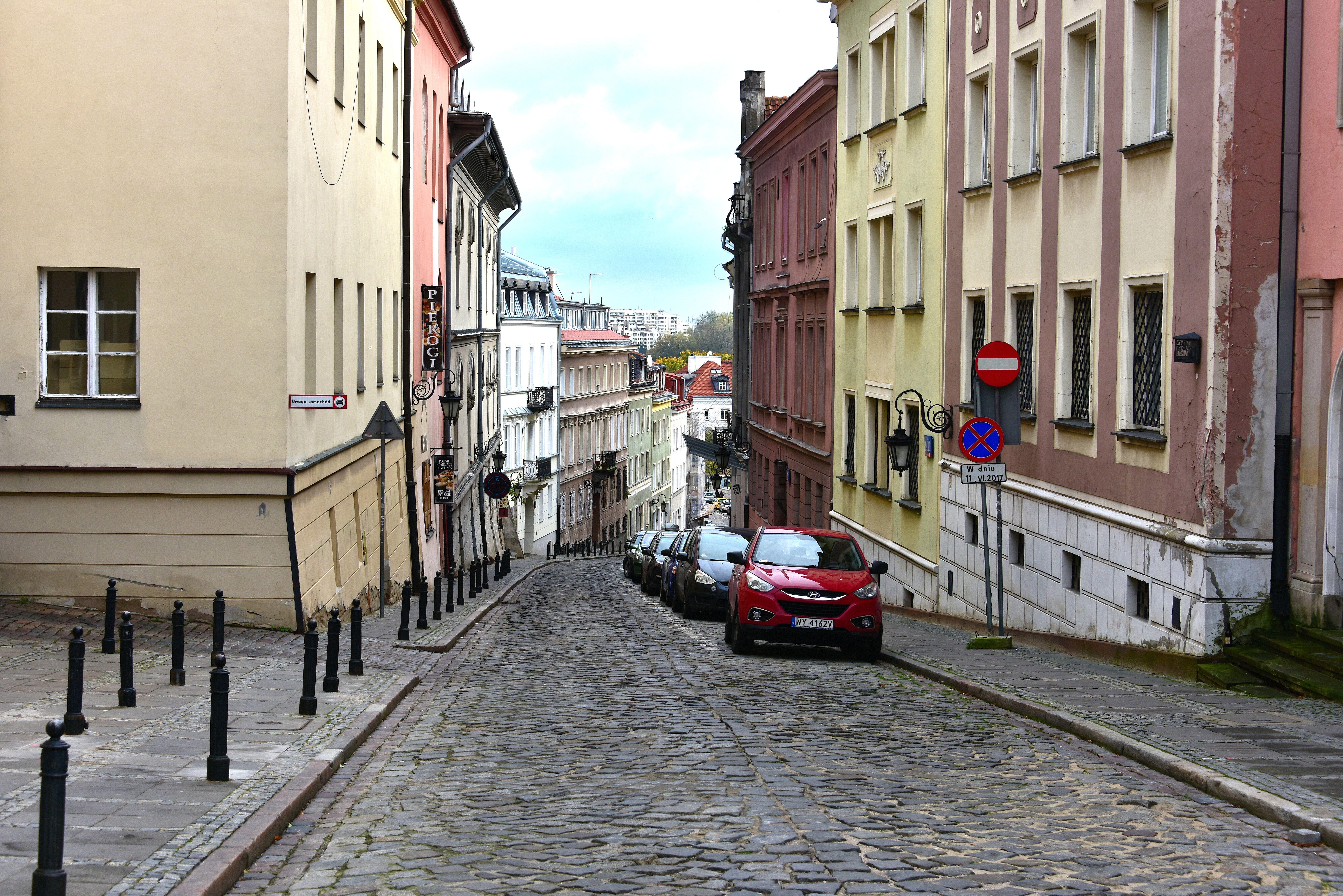 Ulica Bednarska w Warszawie 2017
