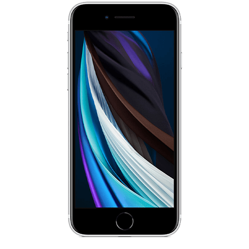 iPhone SE White (Front View)
