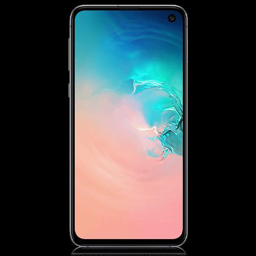 Samsung Galaxy S10e (front view)