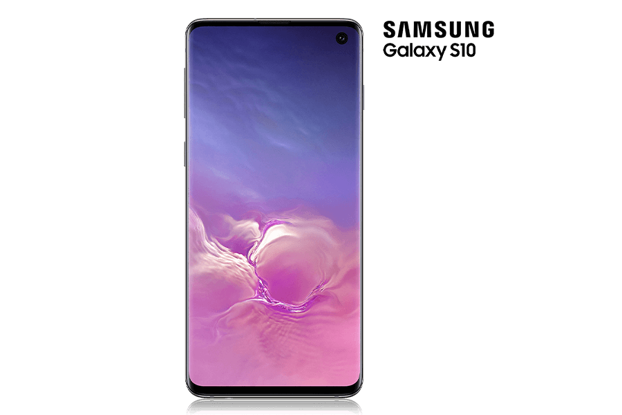 The Samsung Galaxy S10 from Rogers