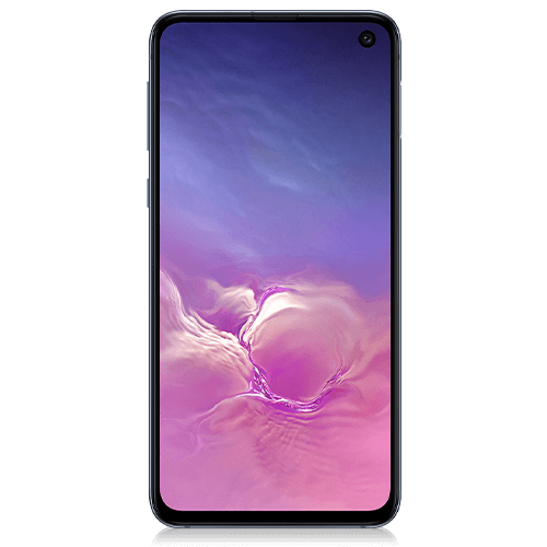 Samsung Galaxy S10e (front view)