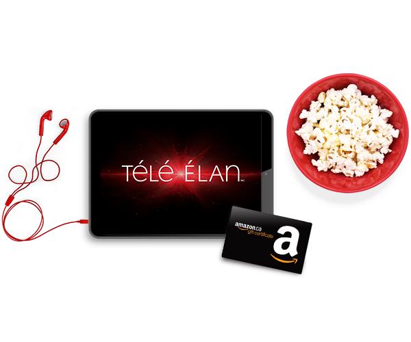 Procurez-vous une offre groupée Élan et obtenez une carte-cadeau Amazon de 100 $