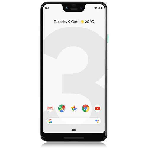 Google Pixel 3 XL (front view)