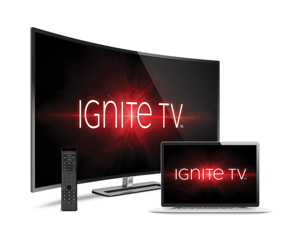 Image of Ignite TV, Rogers' IPTV service