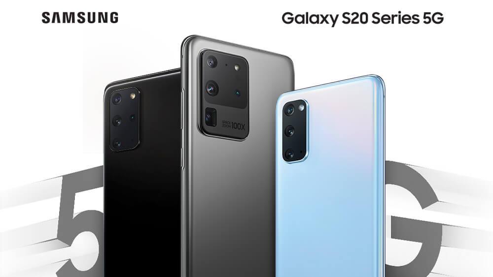 Samsung Galaxy S20 5G series