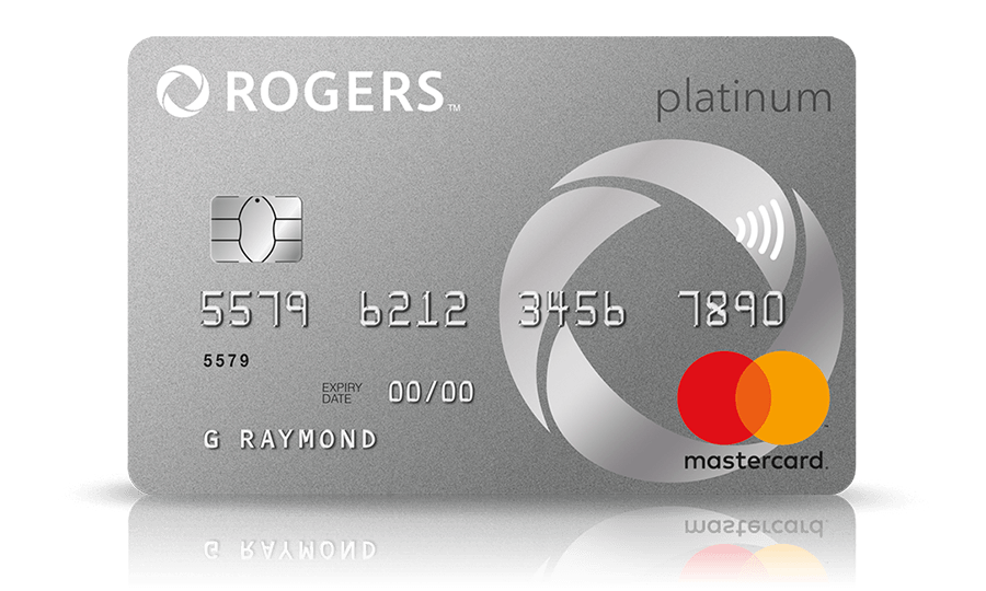 Earn cash back rewards on your Rogers bill with the Rogers Platinum Mastercard.