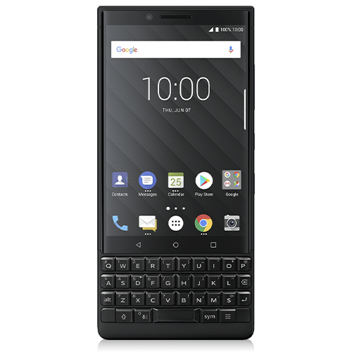 BlackBerry KEY2 (front view)