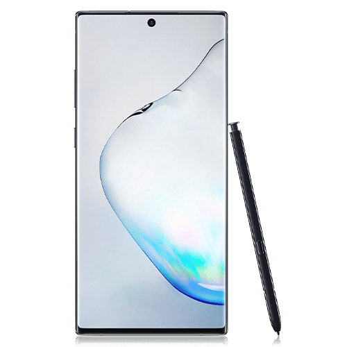 Samsung Galaxy Note 10+ (front view)