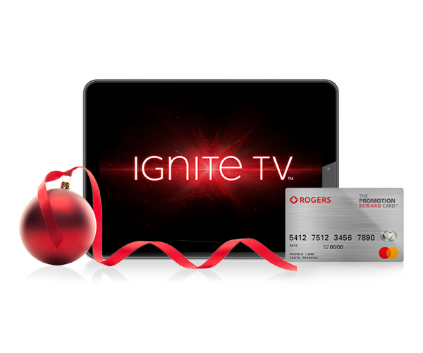 Get a $150 Rogers promotional Mastercard with select Ignite Bundles