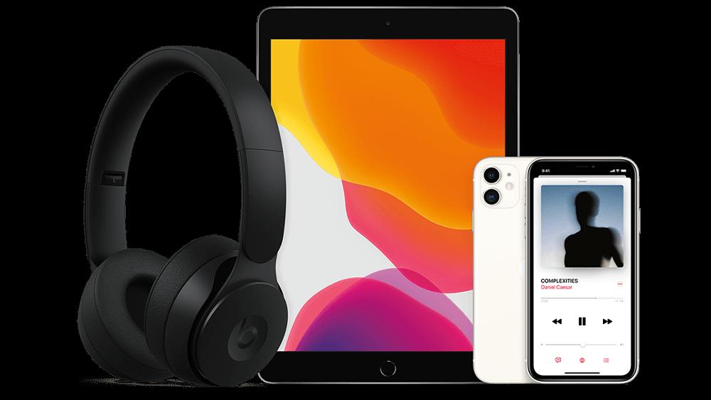 Enjoy Apple Music on select Rogers plans this holiday season.