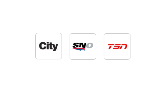 Stream channels like City, Sportsnet Now and TSN with Anyplace TV