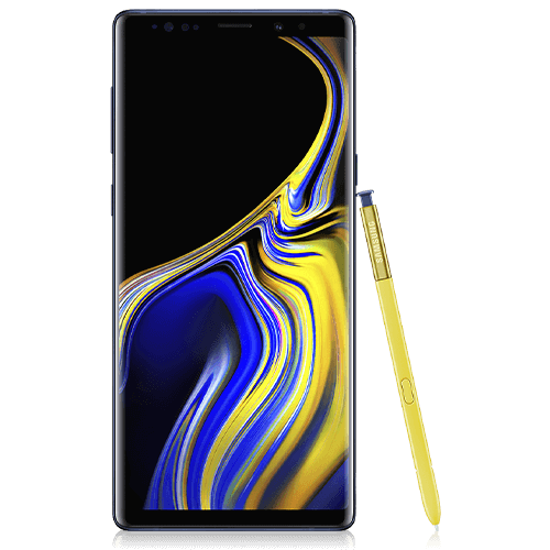 Samsung Galaxy Note9 (front view)