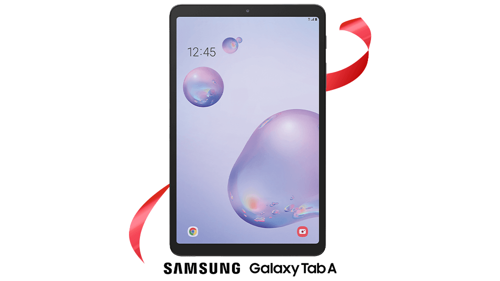 The Samsung Tab A 8.4 from Rogers