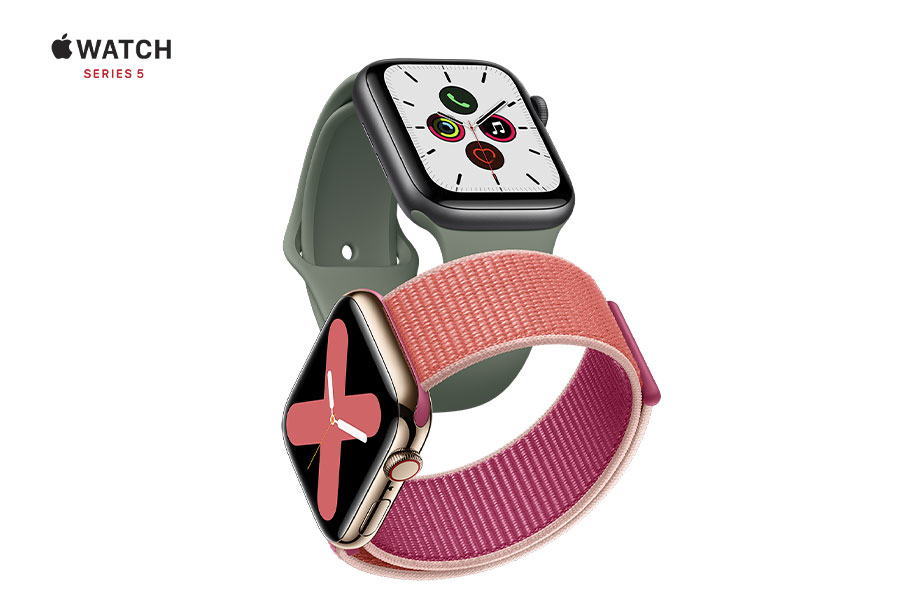 Get the new Apple Watch Series 5 today!