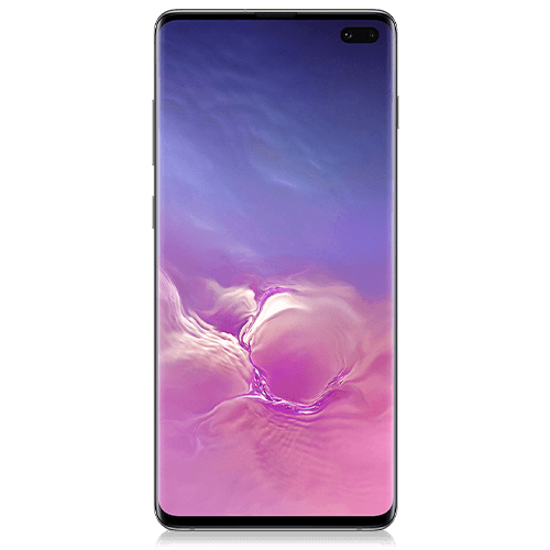 Samsung Galaxy S10+ (front view)
