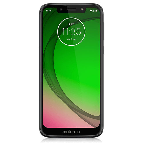 moto g7 play (front view)