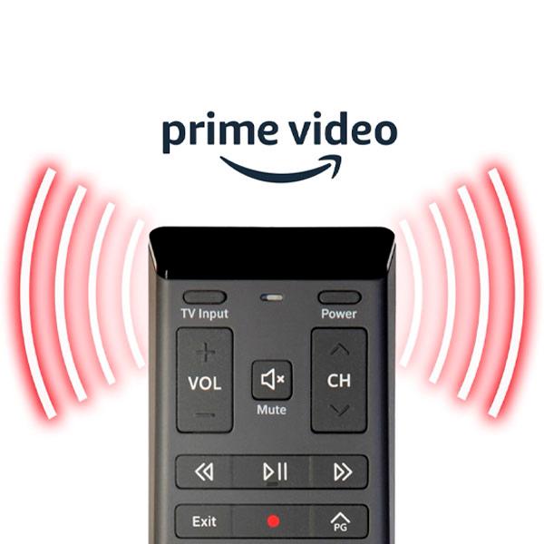 Use the Voice Remote to access Amazon Prime Video on Ignite TV in seconds