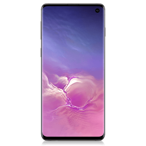 Samsung Galaxy S10 (front view)