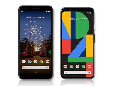 The Google Pixel family of phones.