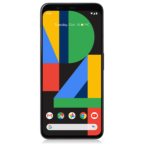 Google Pixel 4 (front view)