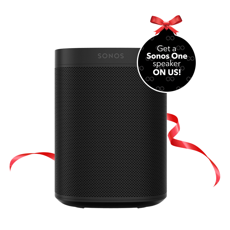 The Sonos One smart speaker – the perfect holiday gift