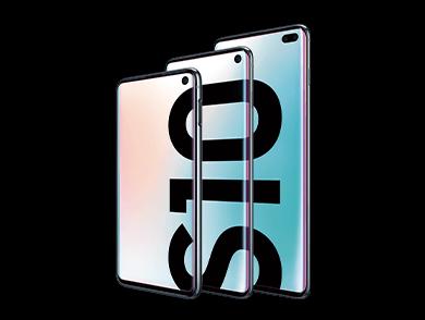 La famille de téléphones Samsung Galaxy S10