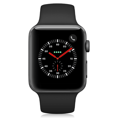 Apple Watch Series 3 (front view)