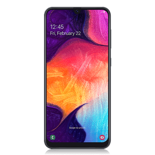Samsung Galaxy A50 (front view)