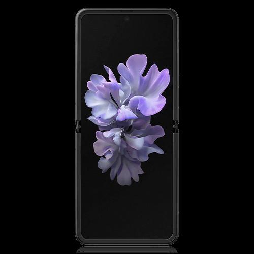 Samsung Galaxy Z Flip 128GB Black (front view)