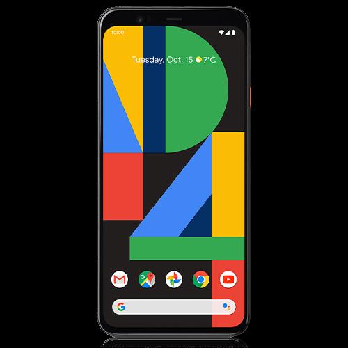 Google Pixel 4 XL (front view)