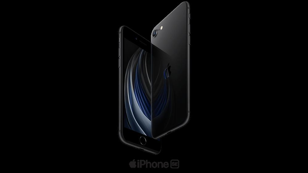 iPhone SE in black