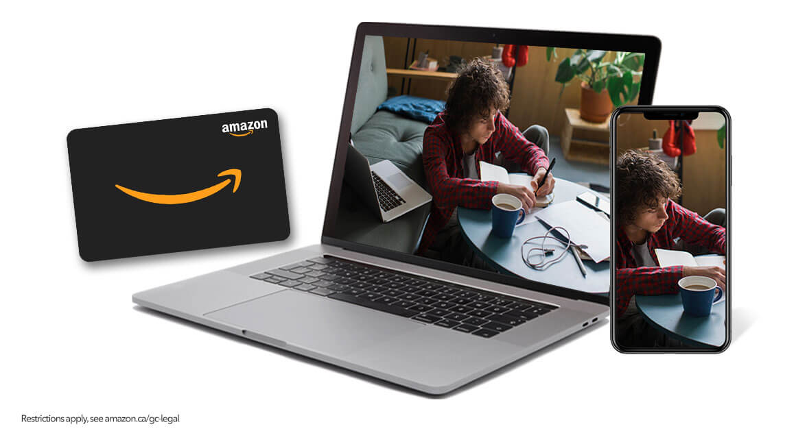 Wireless customers, get a $150 Amazon Gift Card with Ignite Internet 75u or above