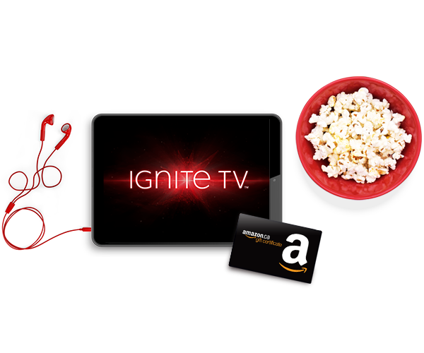 Get an Ignite Bundle and receive a $100 Amazon gift certificate