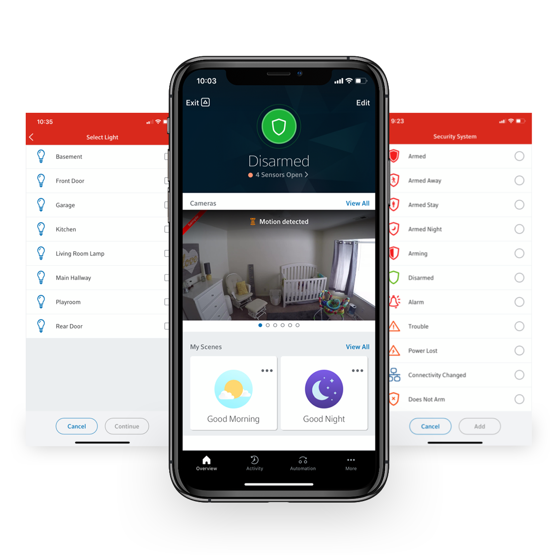Control and monitor your home remotely with the Smart Home Monitoring app