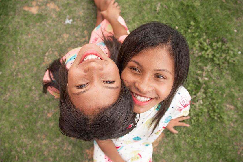 Brasil: Sarah aprende a escribir su primera carta