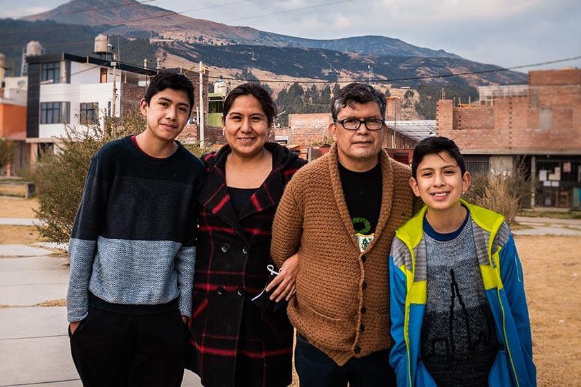 Pastore Vidal, Perù: L'opera deve andare avanti