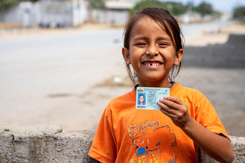 Ecuador: los niños que no existen