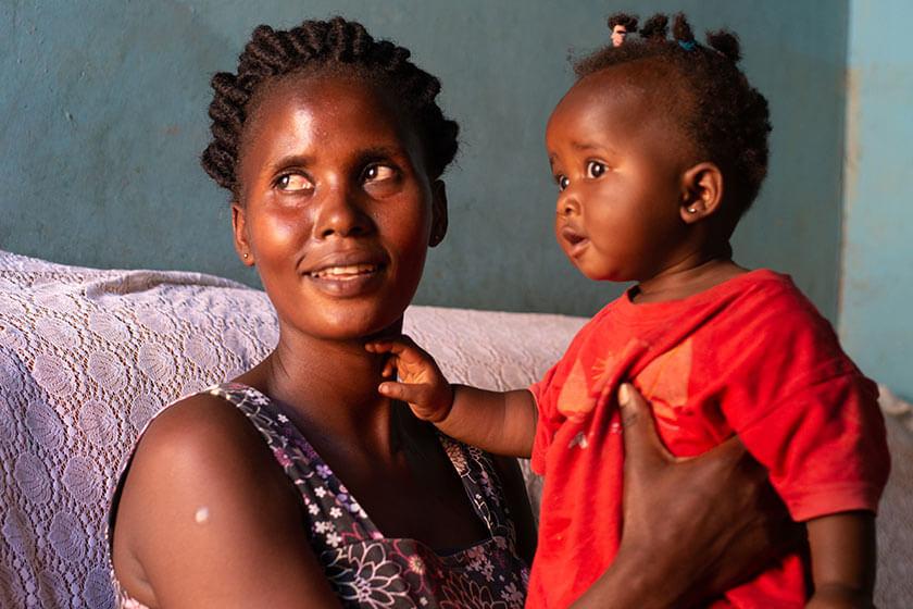 Uganda: una madre nunca se rinde