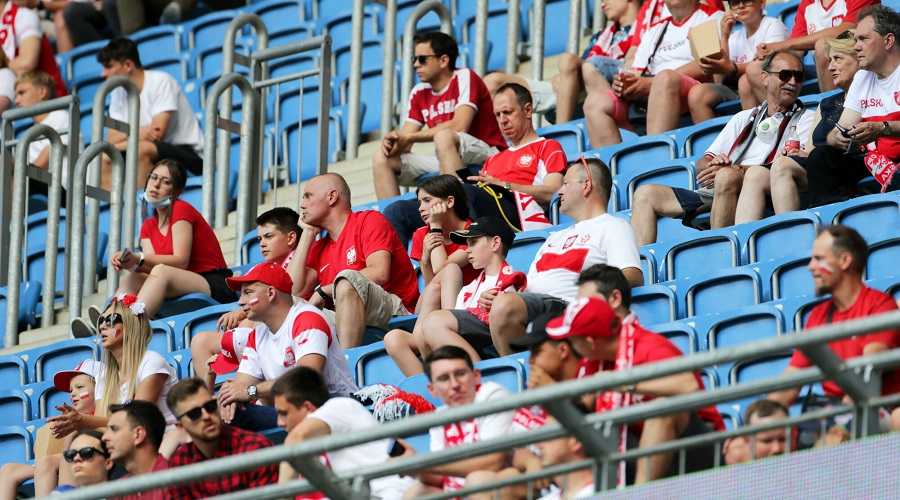 Kibice reprezentacji Polski na Euro 2020
