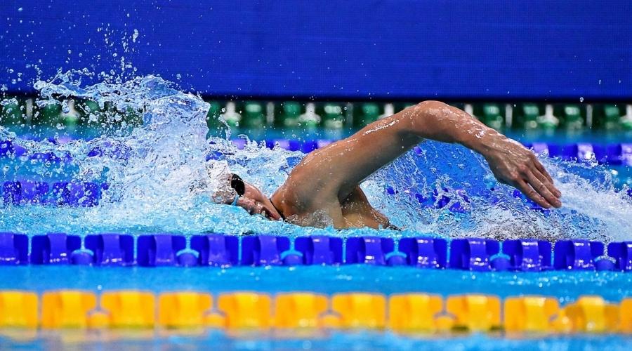 Mistrzostwa europy w pływaniu na zdjęciu Alicja Tchórz