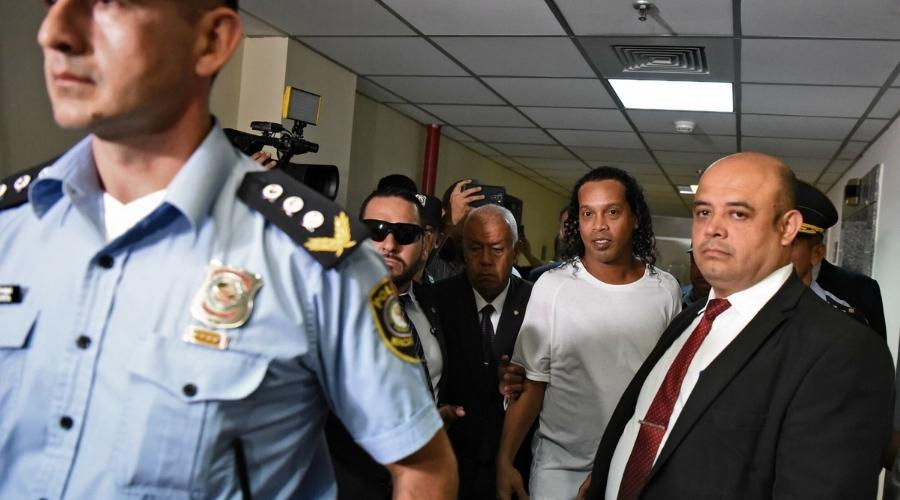 Ronaldinho więzenie