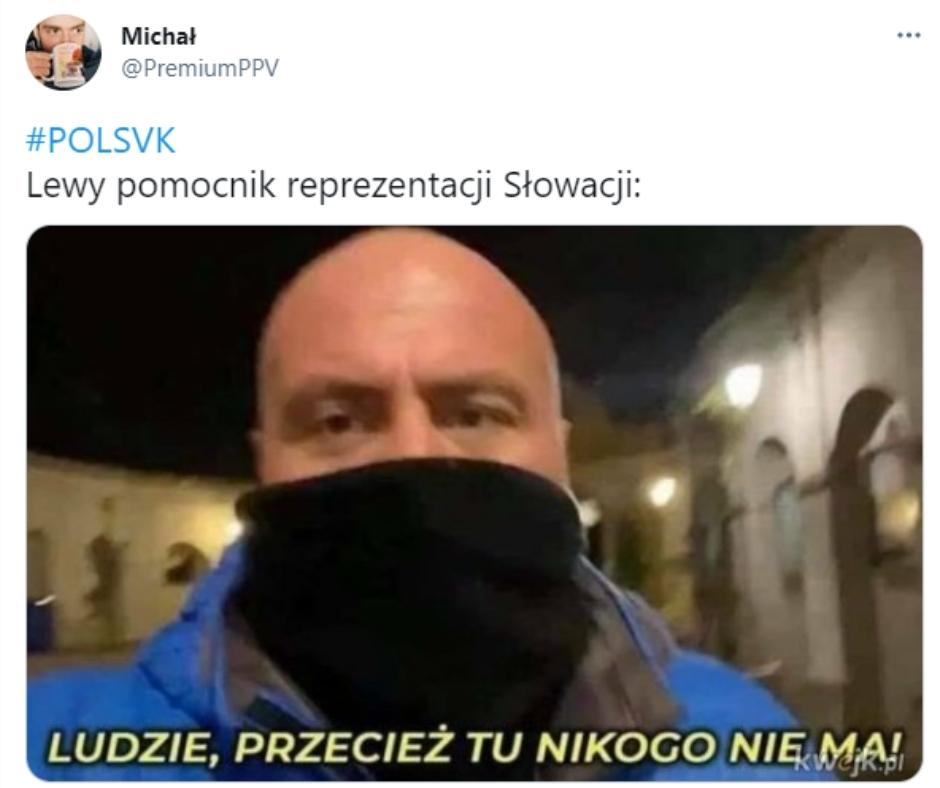 Memy po meczu Polska Słowacja
