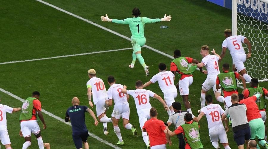 Francja Szwajcaria Euro 2020