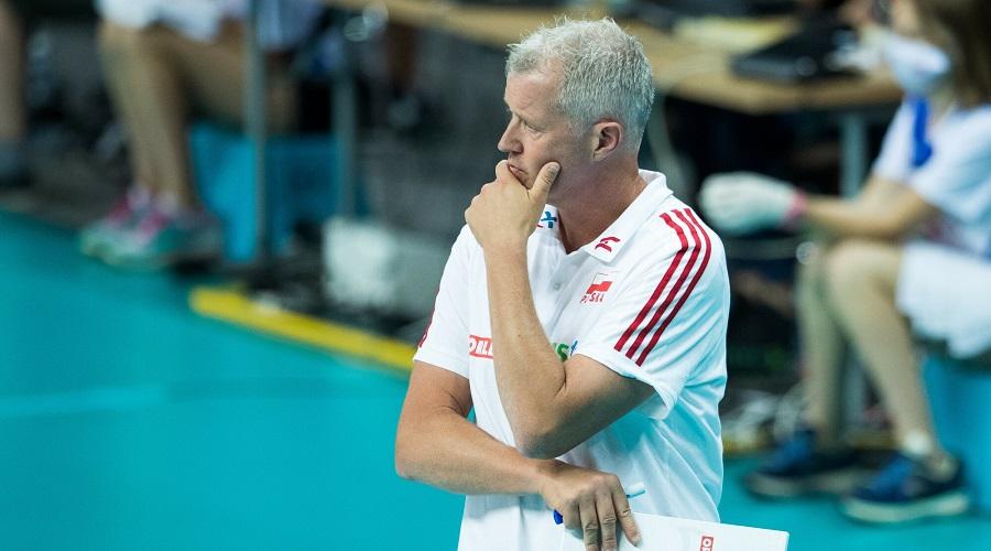 Trener reprezentacji Polski w siatkówce