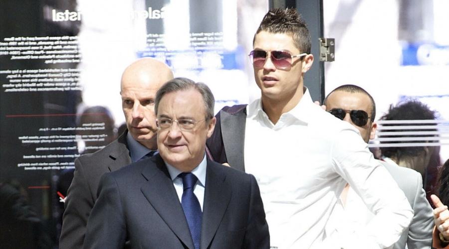 Real Madryt Florentino Perez
