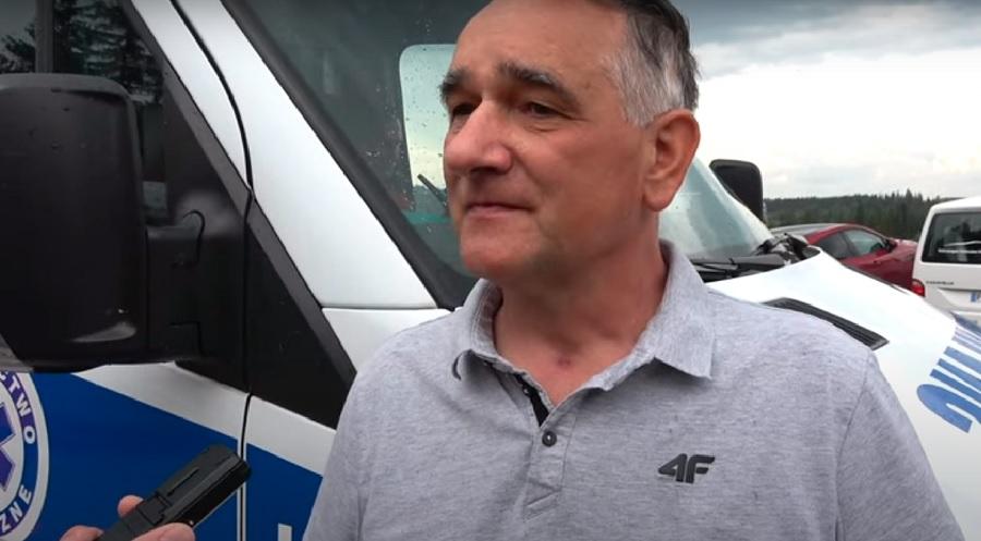 Zbigniew Klimowski - trener reprezentacji polski juniorów w skokach narciarskich.