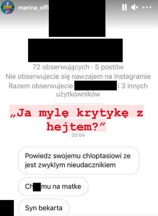 Marina Łuczenko-Szczęsna Instagram