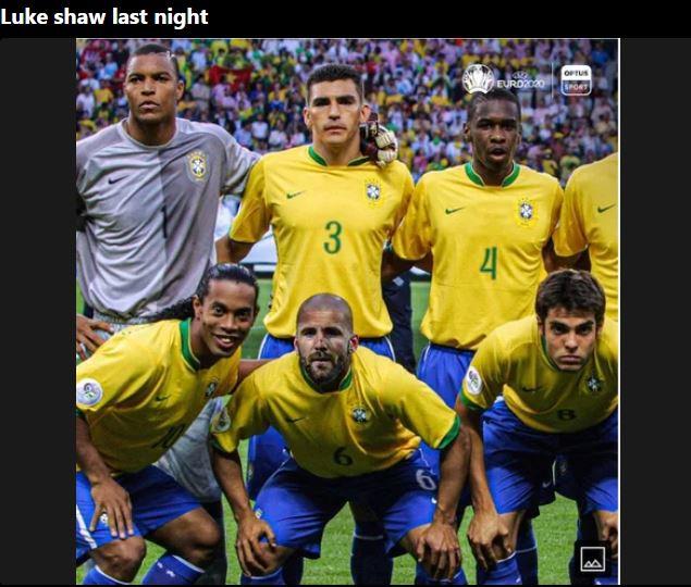 Memy po meczu Anglia-Ukraina