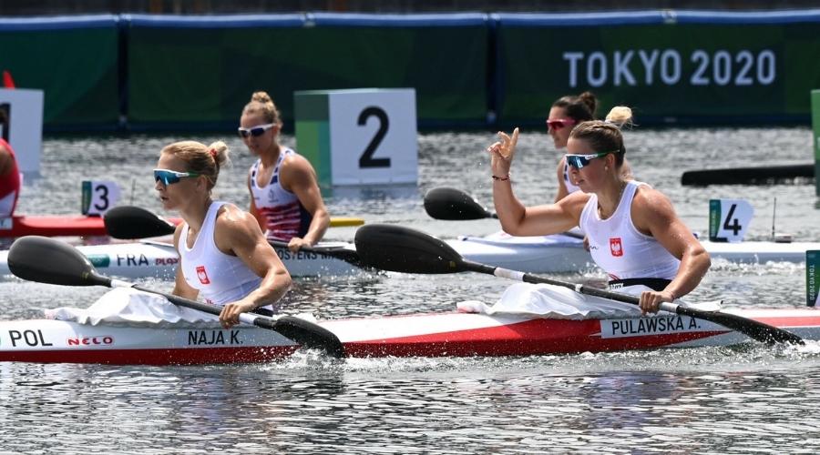 Karolina Naja Anna Puławska K2 500m igrzyska olimpijskie